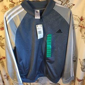 NWT Adidas Rose Patterned Track Jacket